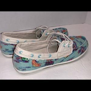 Sanuk Women's Tropic Sailway 2 shoes 7.5m